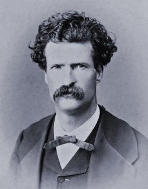Mark Twain 1867 32 years old
