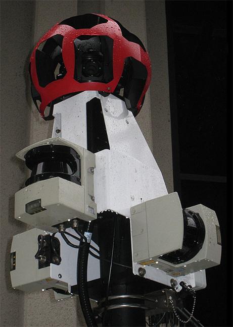 Google Streetview camera array